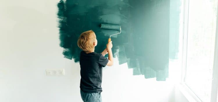 How the color of paint in the room affects the mood
